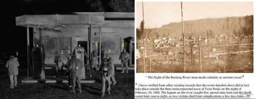 The Woodsmen and The Night of the Burning River, The Secret History of Twin Peaks