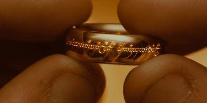 One ring will bring a fellowship together to save Middle Earth in the Lord of the Rings Trilogy.