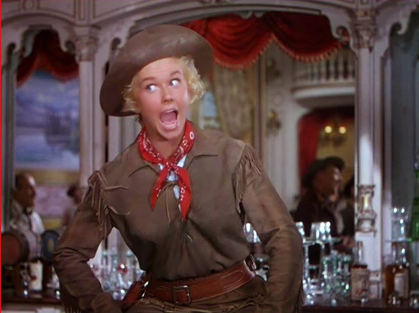 Calamity Jane On-Screen | 25YL