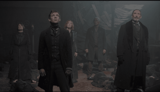 The heroes of Penny Dreadful stand together at the end of the final battle in the season 3 finale.