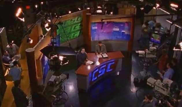 The final shot of the ABC series Sports Night