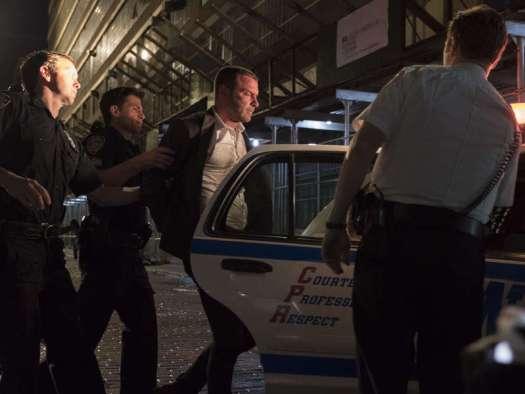 NYPD take Ray Donovan away for a beating, Season 6