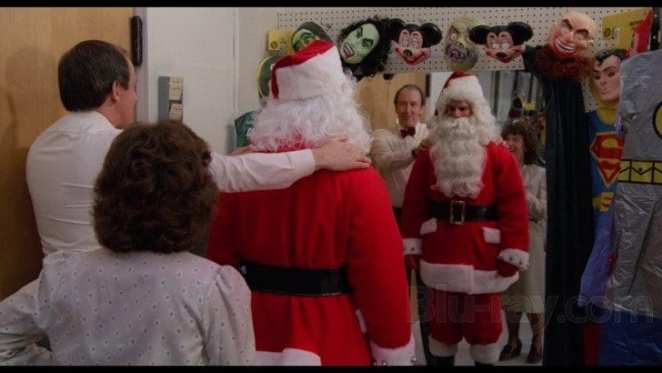 Becoming a monster Santa, Silent Night, Deadly Night