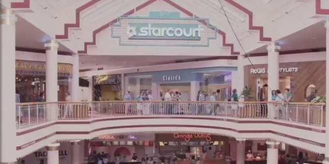 Starcourt. Stranger Things Season 3
