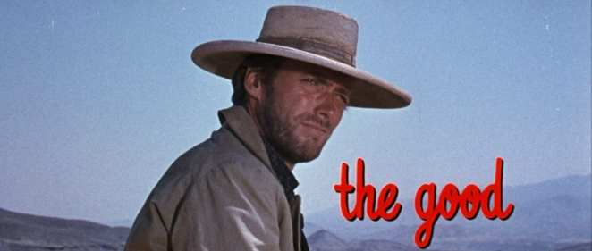 "Clint Eastwood as ""Blondie"" in The Good, the Bad and the Ugly"