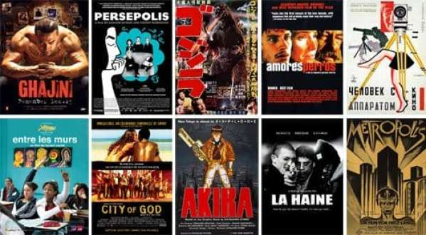 A selection of films from the World Cinema genre