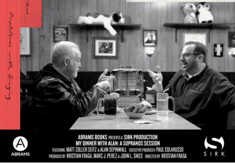 Matt Zoller Seitz and Alan Sepinwall discuss the Sopranos in My Dinner with Alan