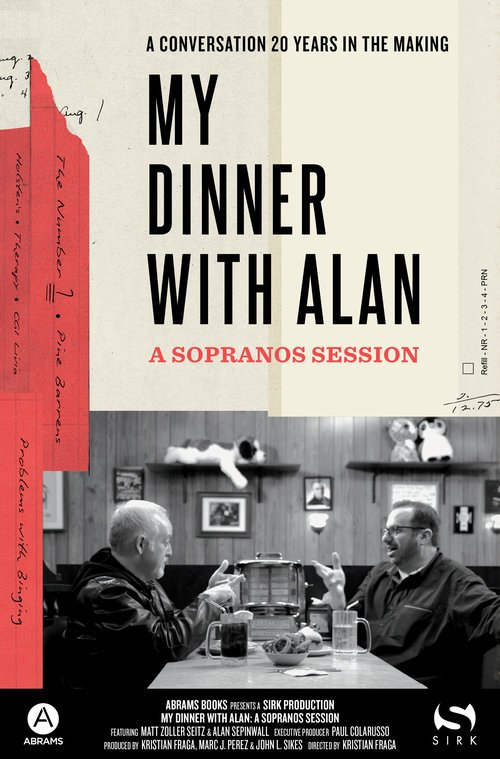 Alan Sepinwall and Matt Zoller Seitz discuss The Sopranos at Holsten's in My Dinner with Alan
