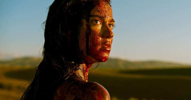 Jen covered in blood and out for revenge