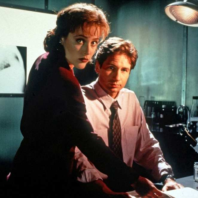 Scully and Mulder The X-Files