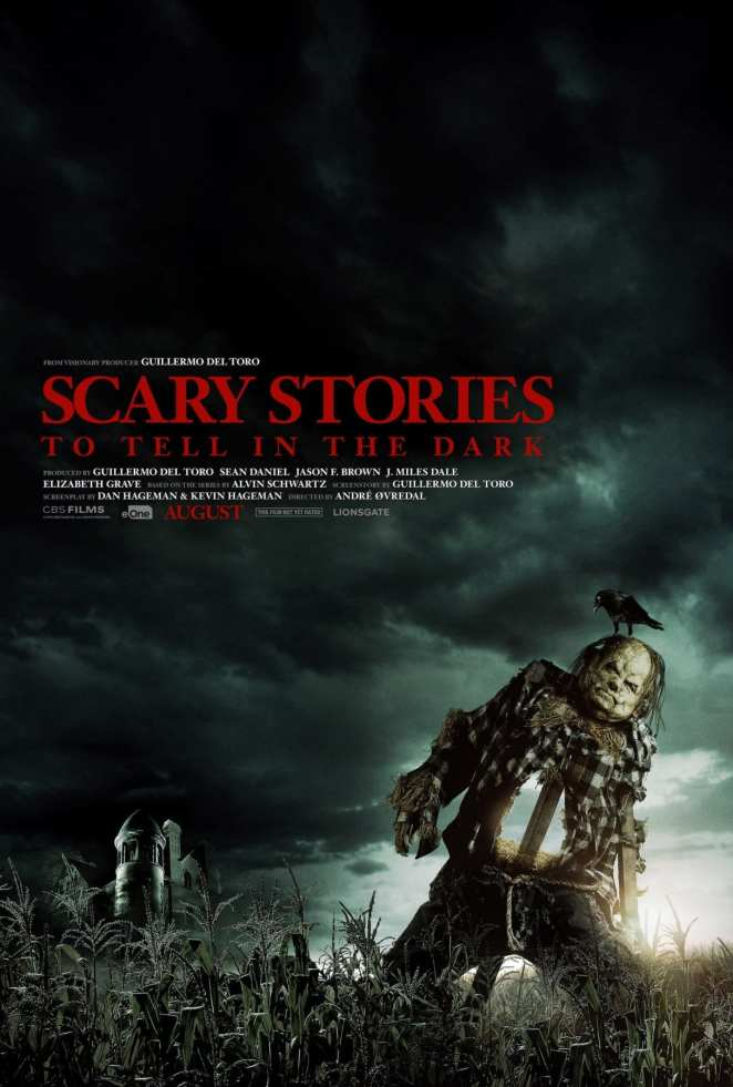 Scary Stories to Tell in the Dark upcoming film poster