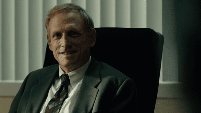The very creepy Head of Security for Hoyt Foods, Harris James in True Detective Season 3 Ep 6