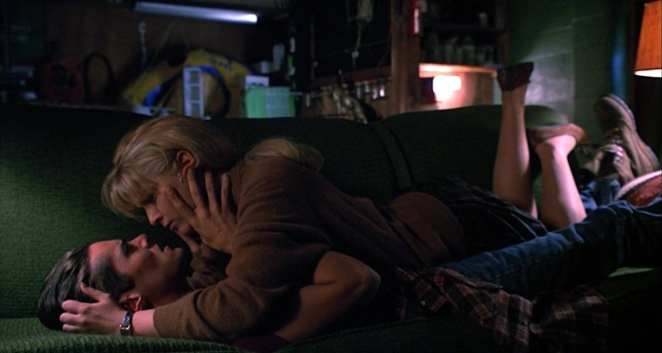 Bobby Briggs and Laura Palmer in Twin Peaks: Fire Walk With Me