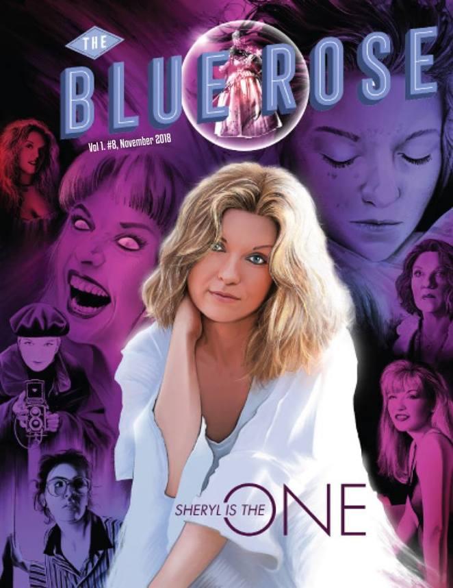 Blue Rose Magazine Sheryl Lee Issue 8