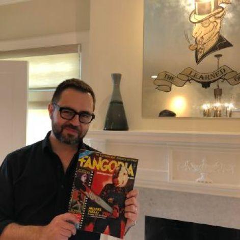 Phil Nobile Jr becomes Editor In Chief of Fangoria Magazine