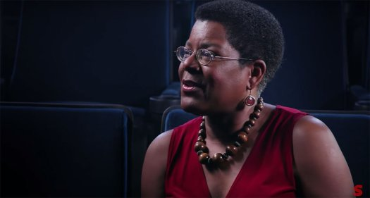 Author/Educator/Executive Producer of Horror Noire, Tananarive Due is interviewed in the documentary Horror Noire.