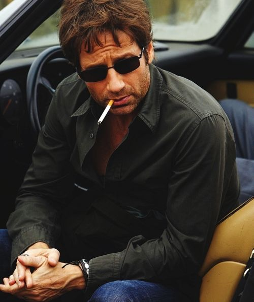 David Duchovny as Hank Moody in Californication on Showtime