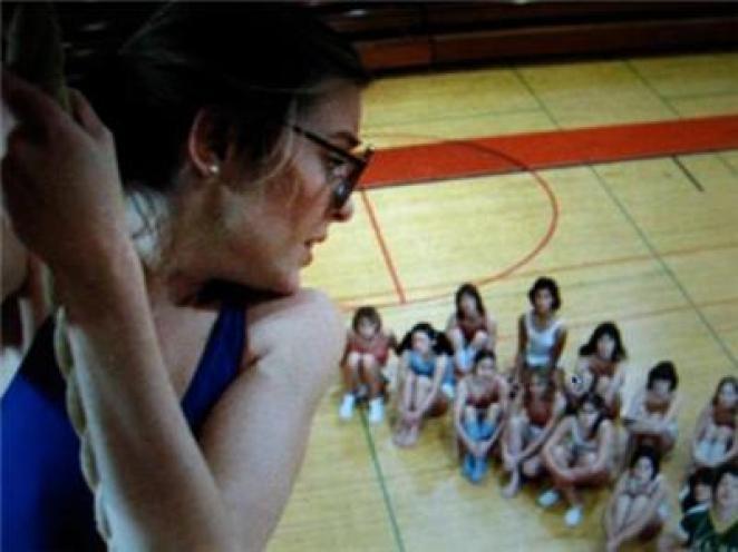 The dreaded gym class rope climb with Kate Rambeau