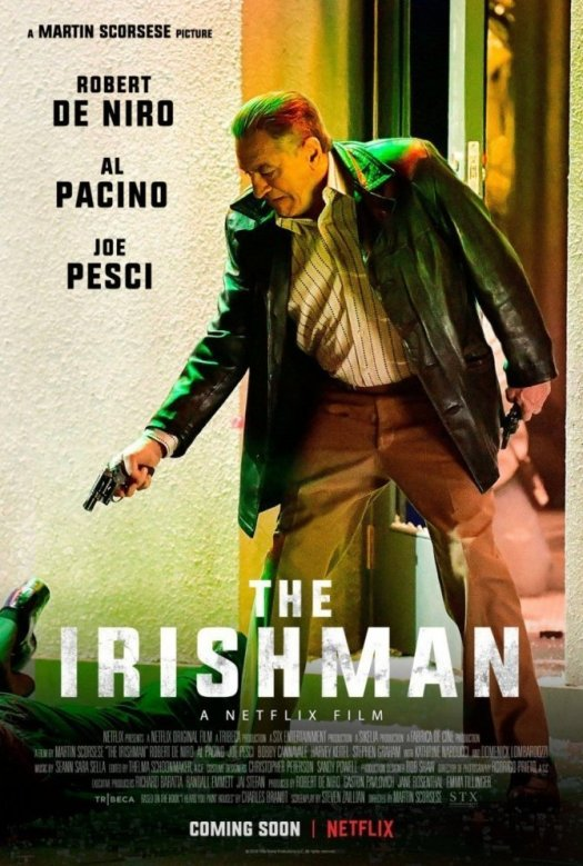 May or may not be real poster for upcoming Netflix The Irishman