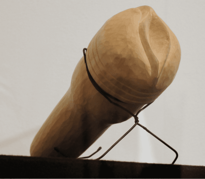 Galanin's wooden fleshlight.