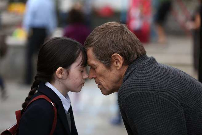 Willem Dafoe and Clara Read in Netflix