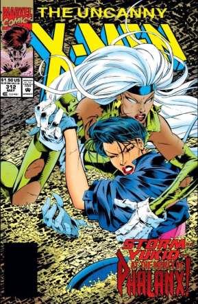 Uncanny X-Men #312 cover, art by Joe Madureira