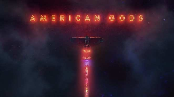 American Gods Title Image