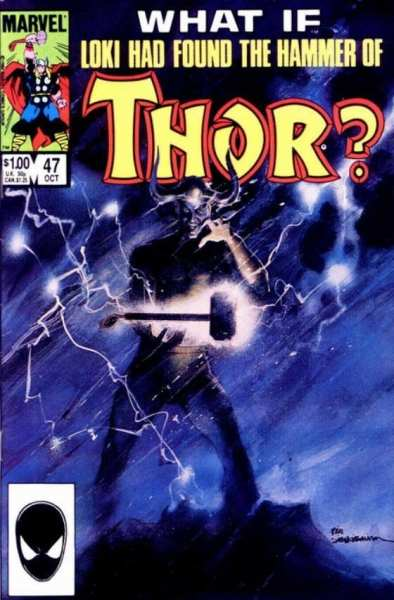 What If Loki had found the hammer of Thor comic book