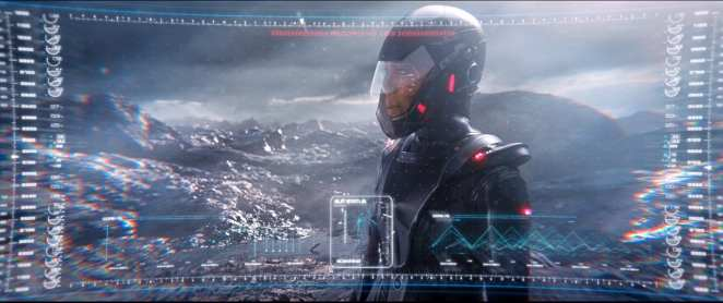 "Dr. Burnham surveys a destroyed future Earth in Star Trek: Discovery Season 2 Episode 11 ""Perpetual Infinity"""
