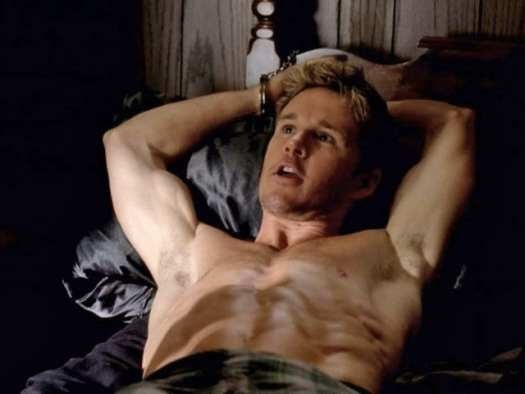 "Jason Stackhouse (Ryan Kwanten) in ""Strange Love,"" the pilot episode of HBO's True Blood"