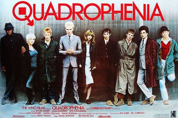 "The cast of ""Quadrophenia"" posed for this poster shot."