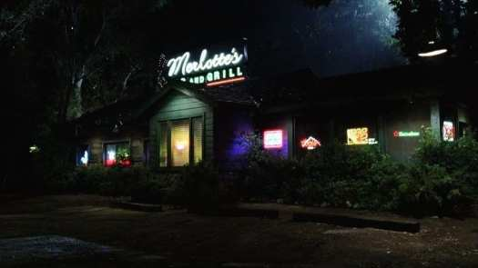 "Merlotte's Bar and Grill in ""Strange Love,"" the pilot episode of HBO's True Blood"