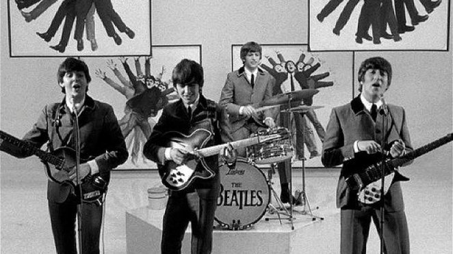 "The Beatles run a lot during the film, ""A Hard Days Night""."