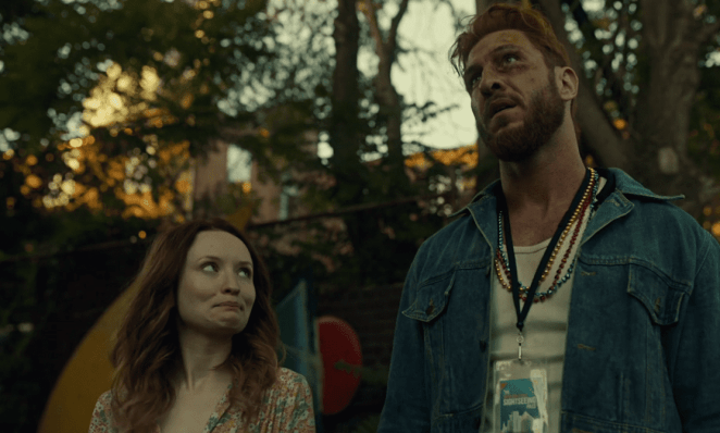 """Laura Moon and Mad Sweeney meet again in NOLA in American Gods' """"The Ways of the Dead."""""""