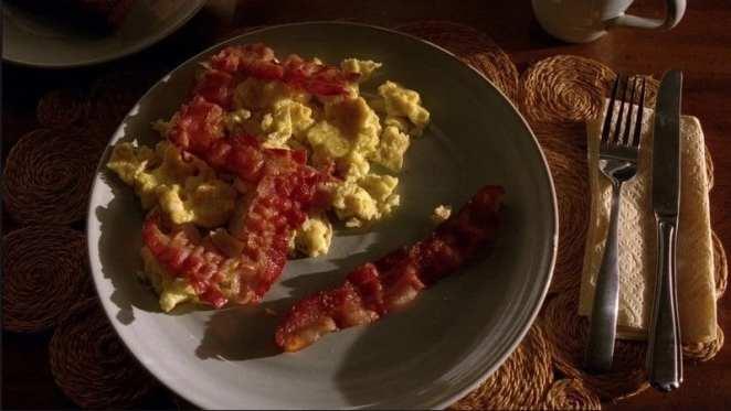 Walter White 51st birthday bacon in Mreaking Bad
