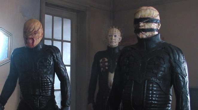 The Cenobites in Clive Barker's Hellraiser.