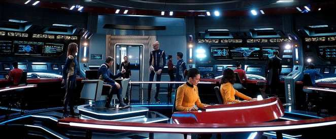 "The bridge of the USS Enterprise in Star Trek: Discovery Season 2 episode 13 - ""Such Sweet Sorrow"""