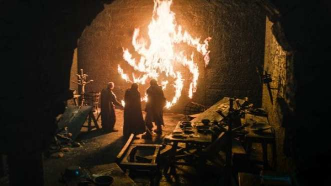 The Umber House massacre and message from the White Walkers in the Season 8 premiere of Game of Thrones