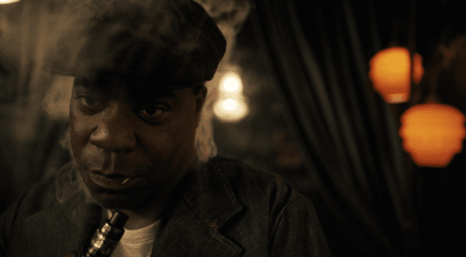 Tracy Morgan is surprisingly chilling in his role as legendary comedian J.C. Wheeler in Jordan Peele's reboot of The Twilight Zone