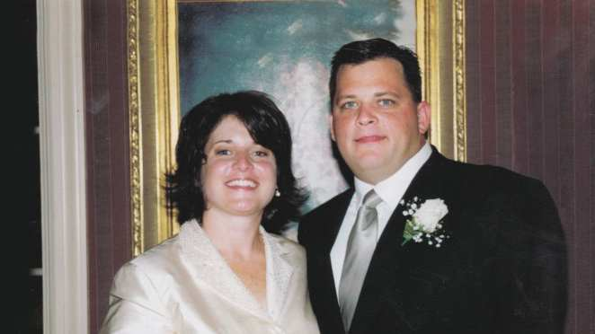 Diane Schuler and husband Daniel in an image from the documentary There's Something Wrong with Aunt Diane
