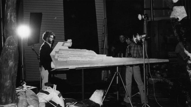 George Lucas directing a space craft