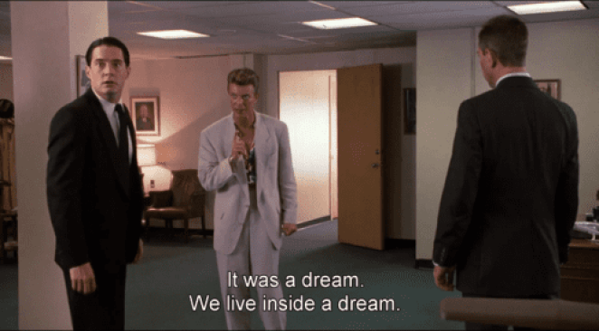Kyle MacLachlan, David Bowie and Miguel Ferrer star in Twin Peaks: Fire Walk With Me