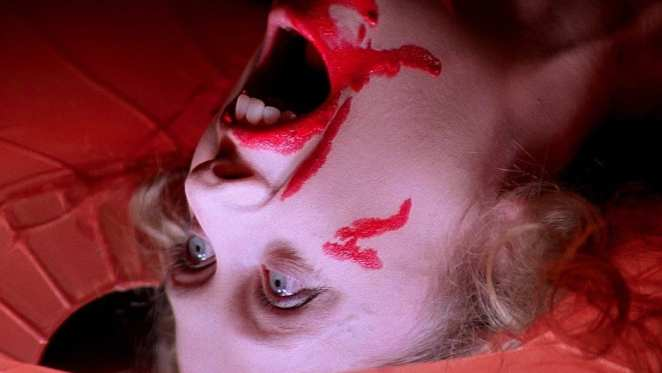 A girl is stalked and murdered in one of the most infamous opening scenes in horror history in Suspiria.