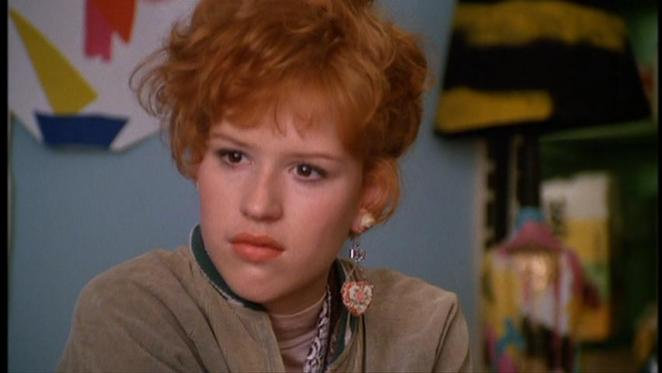 Molly Ringwald as Andie in Pretty in Pink