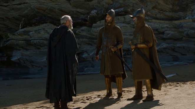 Davos is on the track of finding Gendry in Game of Thrones