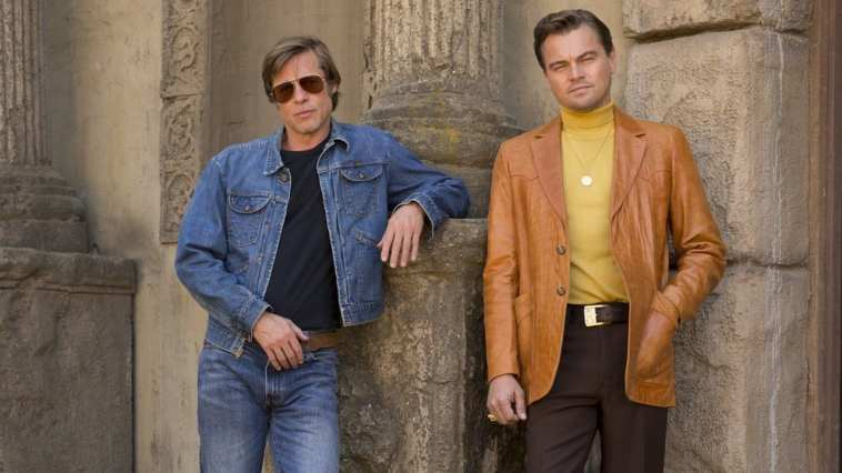 Brad Pitt and Leonardo DiCaprio star in Once Upon A Time In Hollywoo