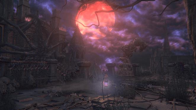 The lantern in Yahar'Gul, The Unseen Village in Bloodborne