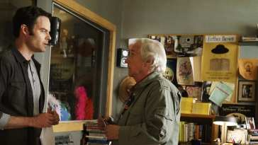 Bill Hader and Henry Winkler in HBO's Barry