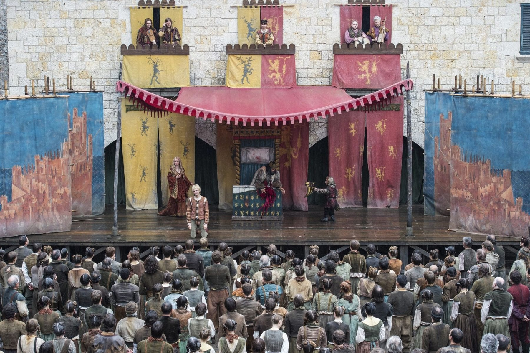 Braavos theater troupe in Game of Thrones