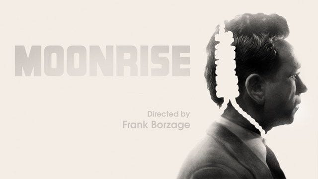 Dane Clark has a noose around his neck in an image for Frank Borzage's Moonrise